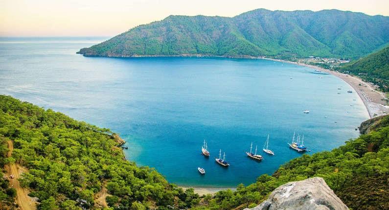 Adrasan transfert aéroport en taxi de / à l'hôtel de vacances transferts aéroport d'Antalya vacances voyage Turquie