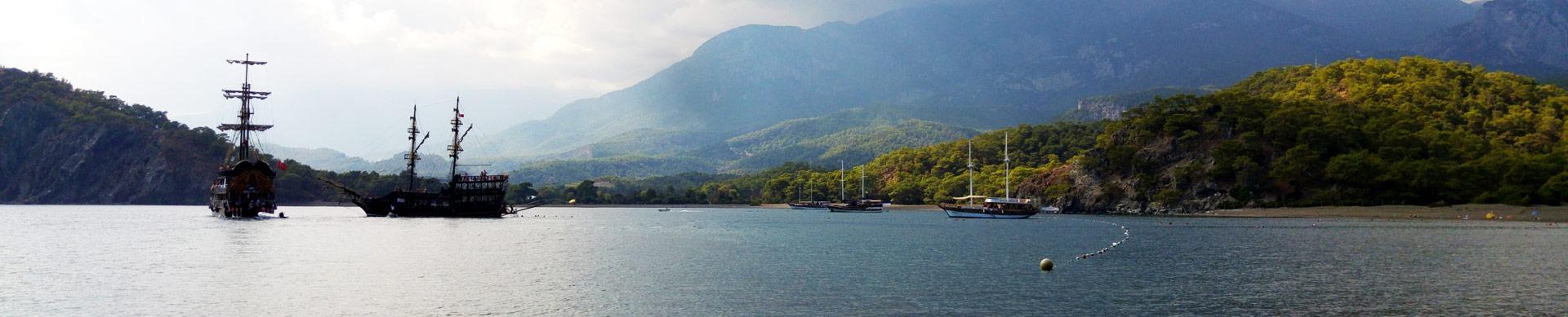 Phaselis transfert aéroport en taxi de / à l'hôtel de vacances transferts aéroport d'Antalya vacances voyage Turquie