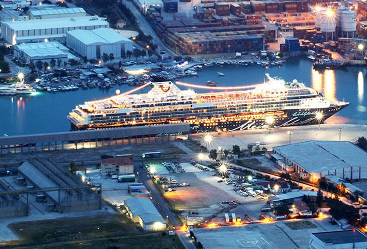 Морской порт Анталии  (Antalya cruise port)