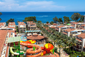 Crystal Aura Beach Resort - Antalya Taxi Transfer