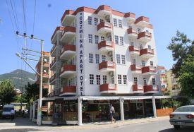 Cozmina Apart Hotel - Antalya Taxi Transfer