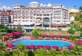 Justiniano Deluxe Resort - Antalya Luchthaven transfer