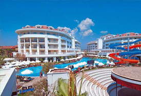 Alba Queen Hotel - Antalya Taxi Transfer