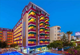 Galaxy Beach Hotel - Antalya Flughafentransfer