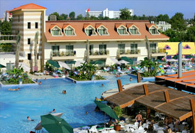 Grand Pearl Beach Resort - Antalya Luchthaven transfer