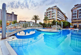 Hedef Beach Resort Hotel - Antalya Airport Transfer