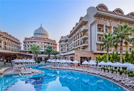 Kirman Belazur Resort - Antalya Luchthaven transfer