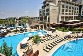 Sunis Kumkoy Beach Resort - Antalya Luchthaven transfer