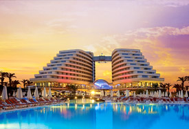 Miracle Resort Hotel - Antalya Transfert de l'aéroport