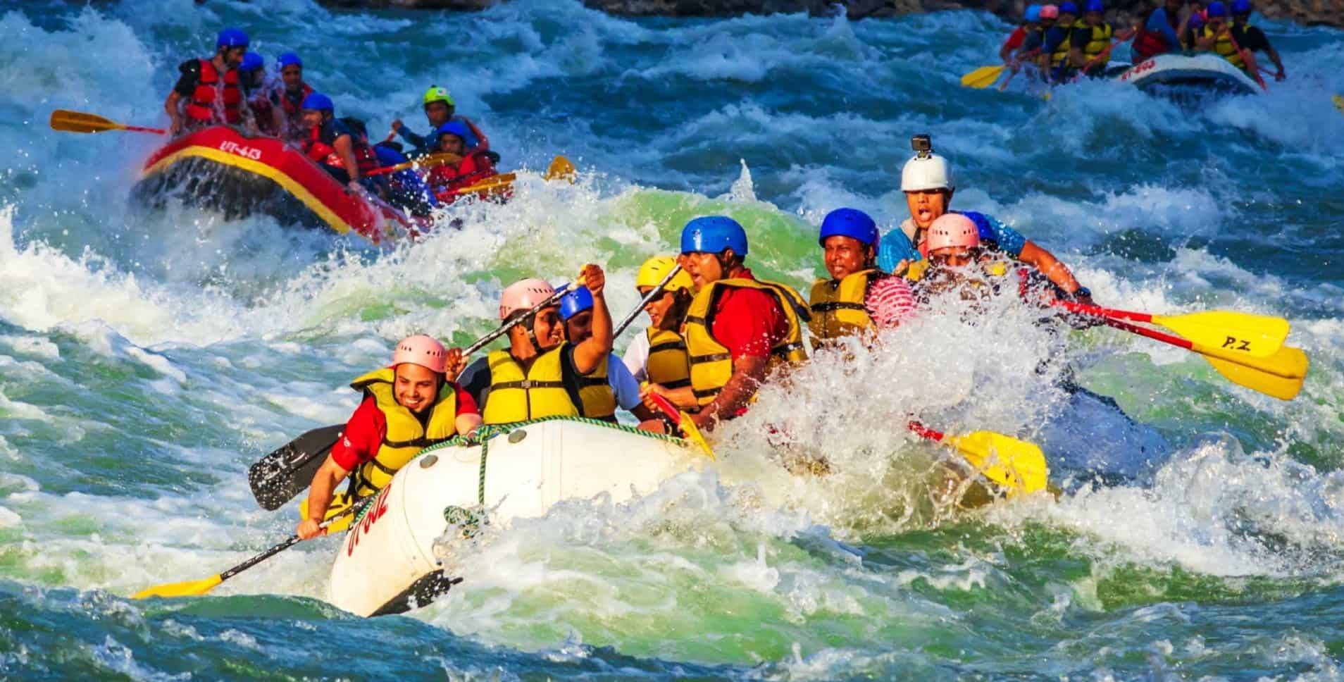Popular Rafting areas in Turkey