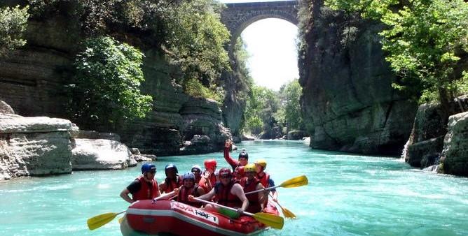 Rafting & Canyoning Tour