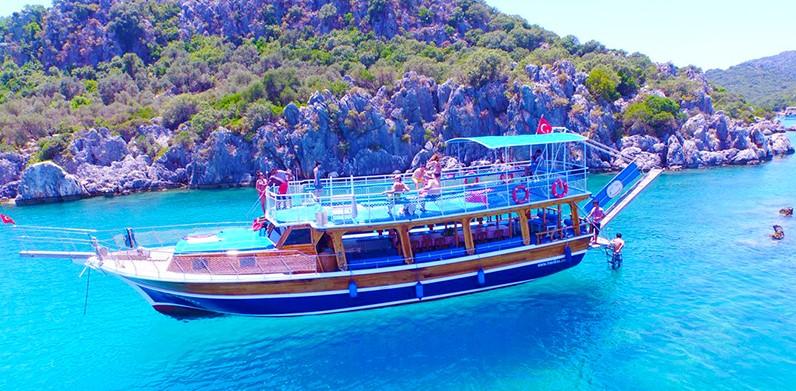 Boat Tour Antalya