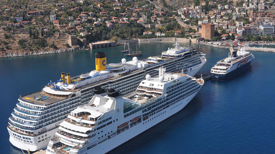 Cruise Ports In Turkey