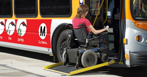 Daily transportation for Disabled